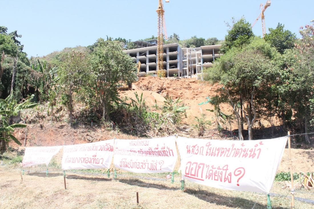 Construction of luxury condo in Kata Noi 'slowed' | News by Thaiger