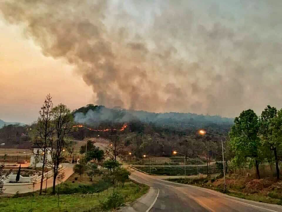 Chiang Mai has world's worst air quality as fires rage in the north | The Thaiger