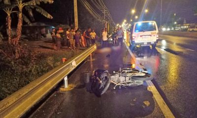 German man dies in Phuket motorcycle crash | The Thaiger