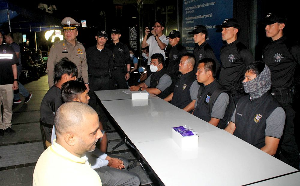 479 arrested on immigration offences   The Thaiger
