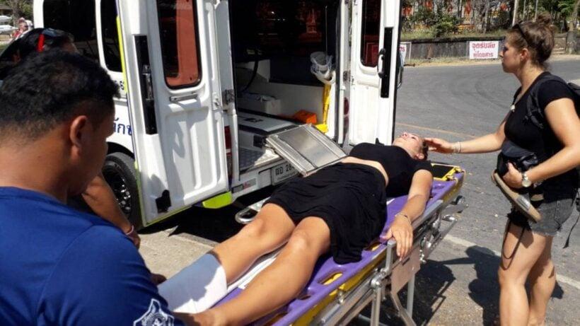 ส่งโรงพยาบาลสาวเยอรมัน หลังถูกงูกัด พบรอยเขี้ยว แต่ไม่ทราบชนิด | News by The Thaiger