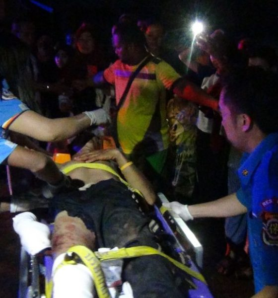 Two injured after stepping on suspected mines at a Krabi island | The Thaiger