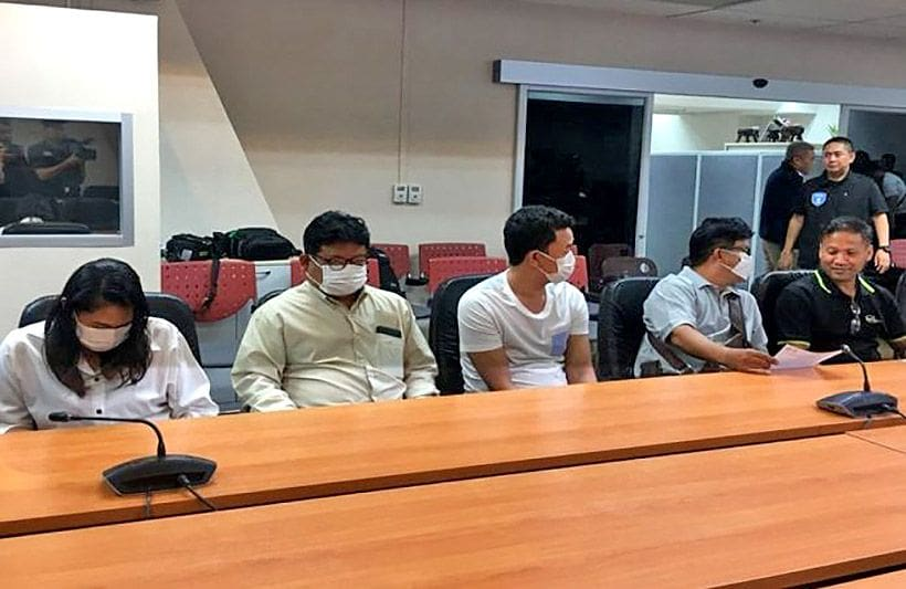 Nine arrested for sharing 'fake election news' | The Thaiger