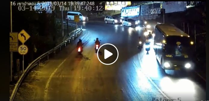 Bus driver fined after dropping oil on Patong Hill – VIDEO | The Thaiger