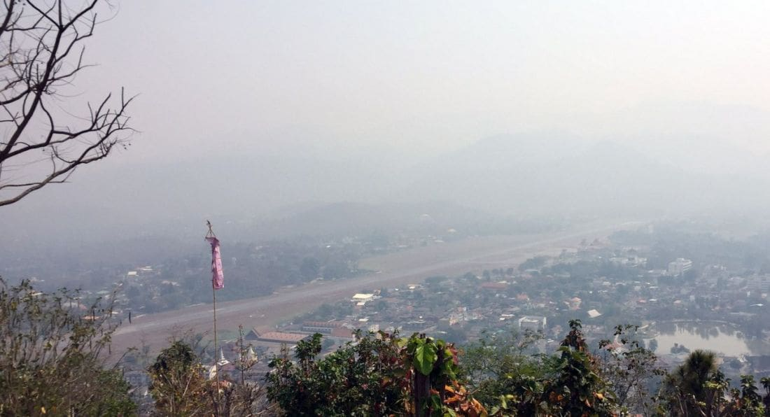Haze and poor visibility grounds morning flights into Mae Hong Son | News by Thaiger
