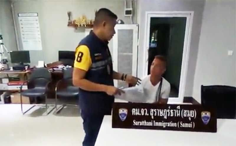 Enthusiastic Dutch lover gets his marching orders in Koh Samui   The Thaiger