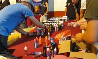 18 busted in e-cigarette and vaping raid in bangkok | The Thaiger