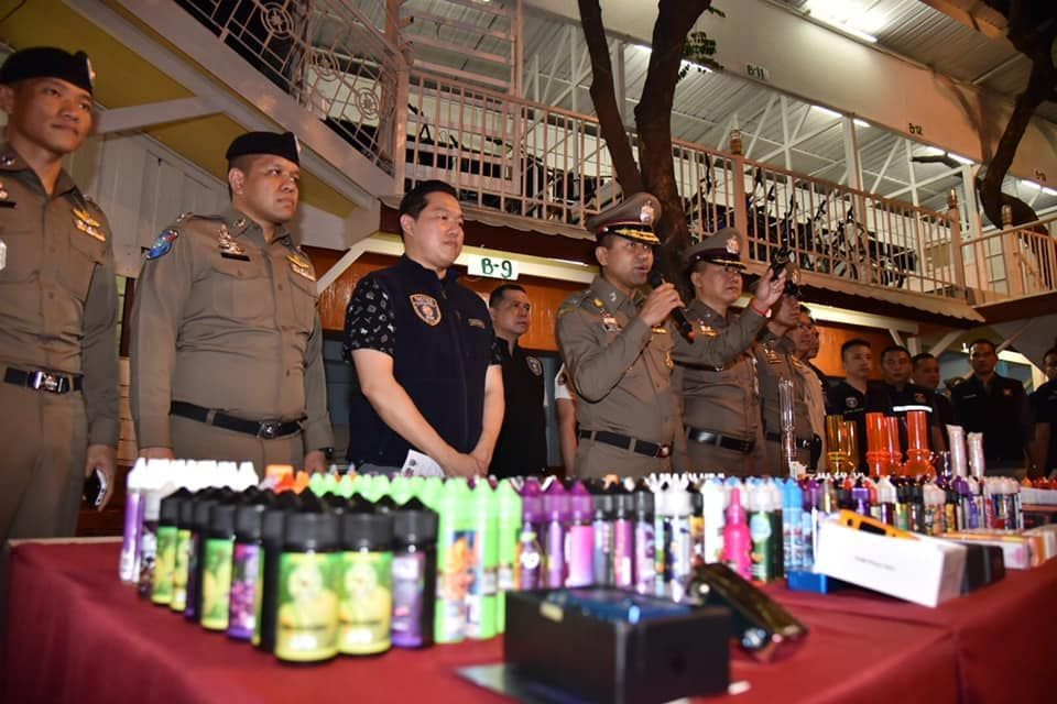 18 busted in e-cigarette and vaping raid in bangkok | News by Thaiger