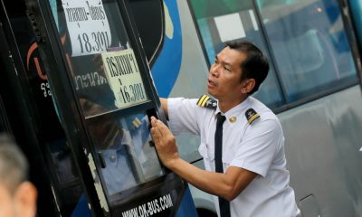 Pre-Songkran inspections of public buses and their drivers | The Thaiger