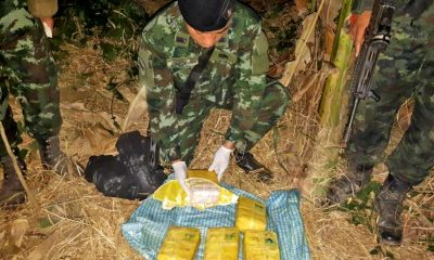Stash of methamphetamine tablets seized from Mae Sai plantation | The Thaiger