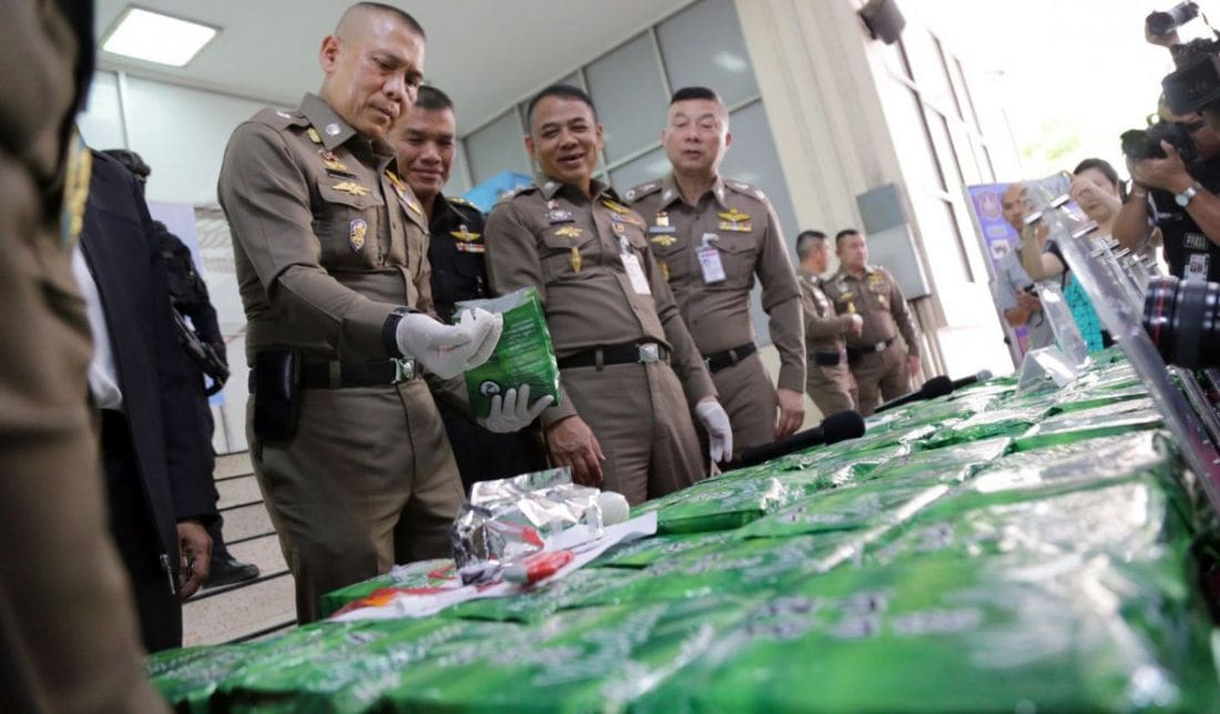 Bangkok Police announce two major drug busts | News by Thaiger