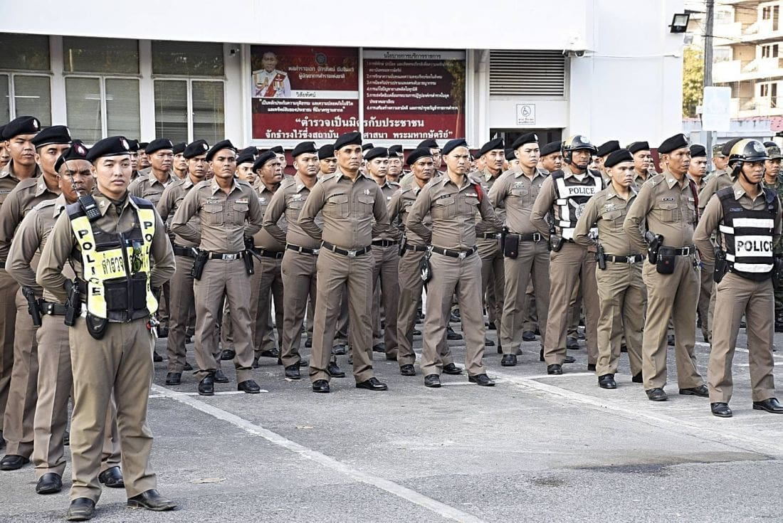 Phuket police gear up for pre-election safety | The Thaiger