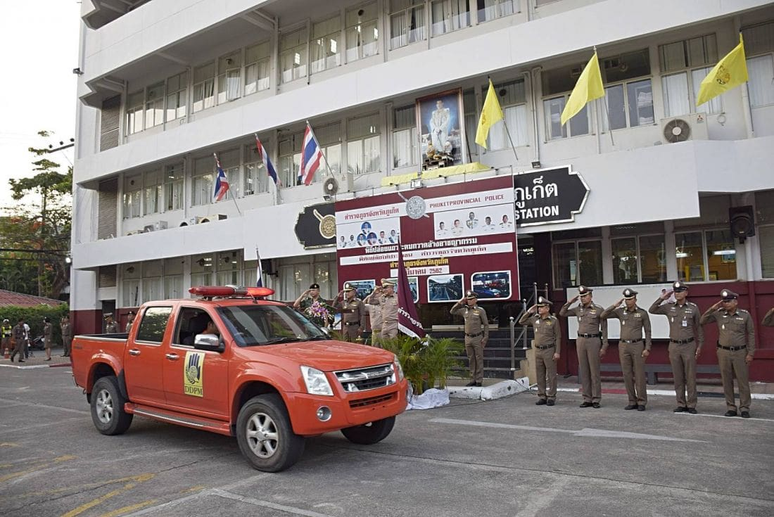 Phuket police gear up for pre-election safety | News by The Thaiger
