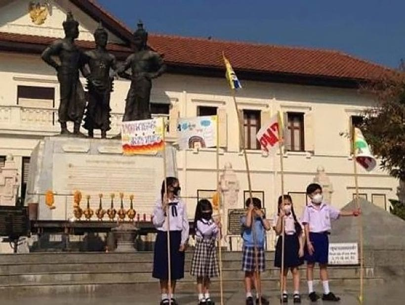 Chiang Mai kids are demanding action on air pollution | News by Thaiger