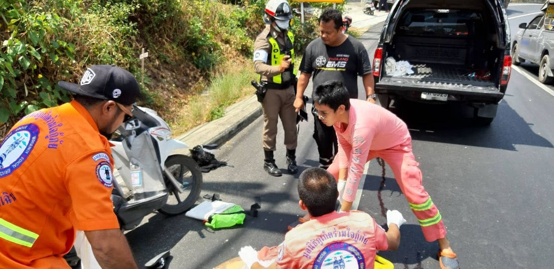 Canadian motorbike driver killed in Phuket road accident | The Thaiger