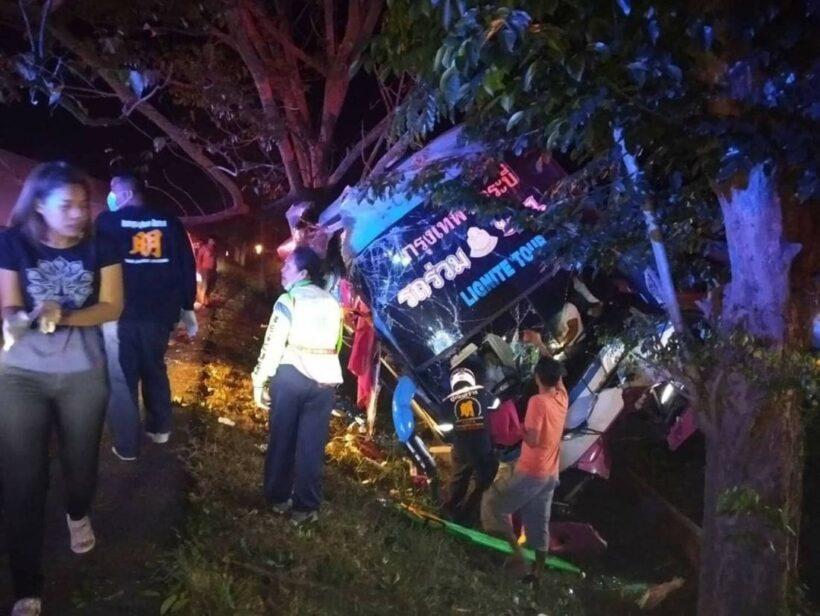 14 injured in bus crash in Prachuap Khiri Khan   News by Thaiger