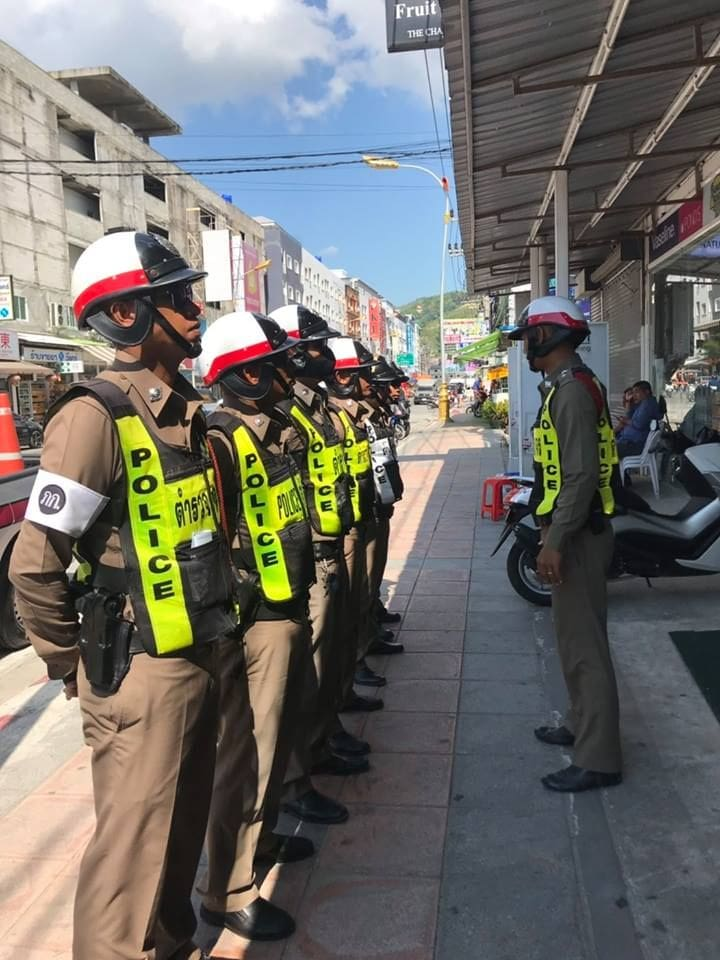 Foreign motorbike racer arrested in Patong | News by The Thaiger