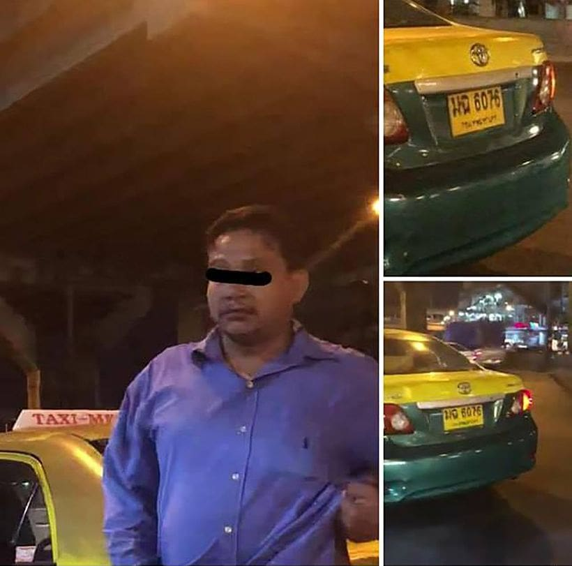 Taxi driver arrested for cheating South Korean tourist in Bangkok - VIDEO | News by Thaiger