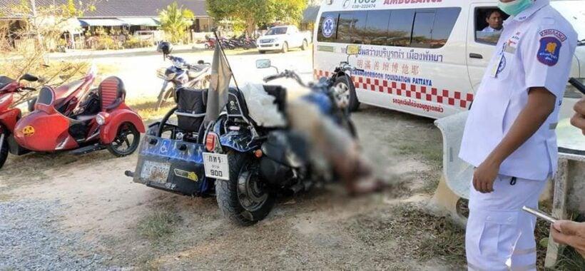 Finnish man found dead on chopper in Pattaya   The Thaiger
