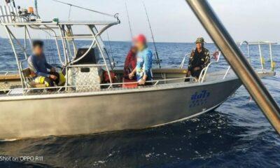 รวบหนุ่มลักลอบตกปลาในเขตอุทยานแห่งชาติหมู่เกาะสิมิลัน เจ้าหน้าที่ฯเปรียบเทียบปรับตามความผิด พรบ.อุทยานฯ | The Thaiger