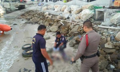 Body of baby boy tied to stroller found off Pattaya beach | The Thaiger