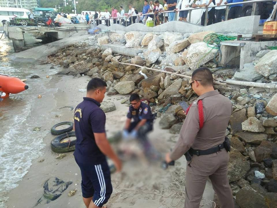 Jordanian father confesses to throwing his son into sea, Pattaya | News by The Thaiger