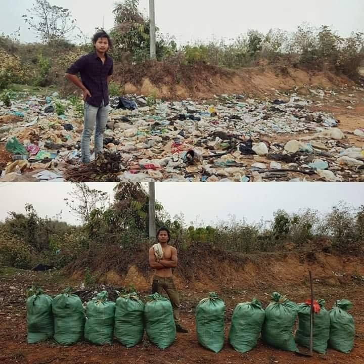 New trend 'Challenge for Change' rubbish cleanup | The Thaiger