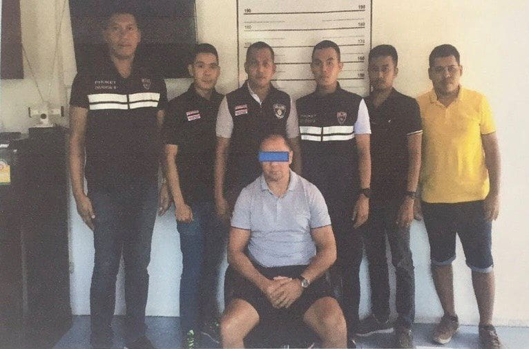 Russian 'mafia' suspect arrested in Phuket | News by The Thaiger