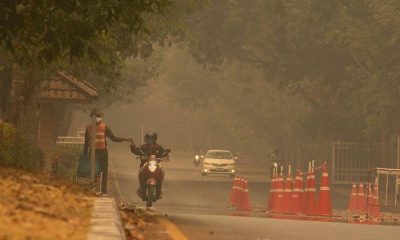 Chiang Mai, Chiang Rai suffer haze and smoke until at least May | The Thaiger