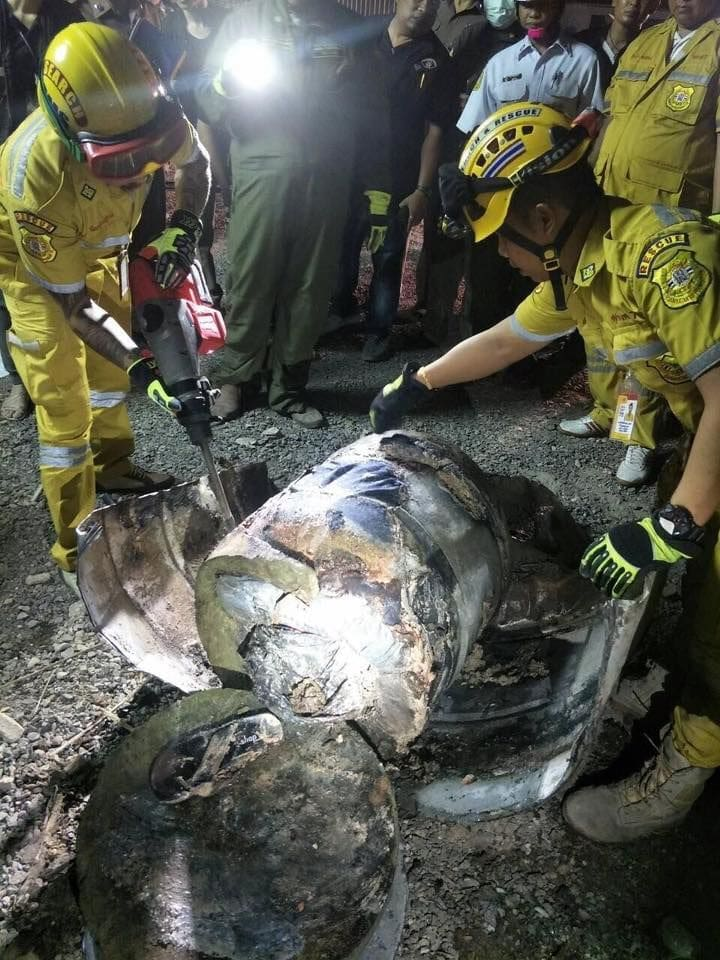 Police hunting for murder killed and buried man in cement in Bangkok   News by Thaiger