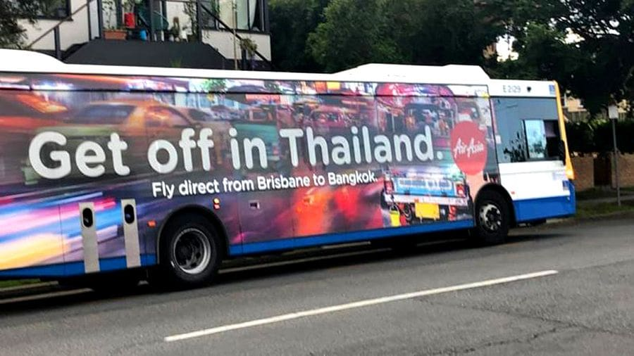 "Air Asia apologises for its ""Get off in Thailand"" promotion 