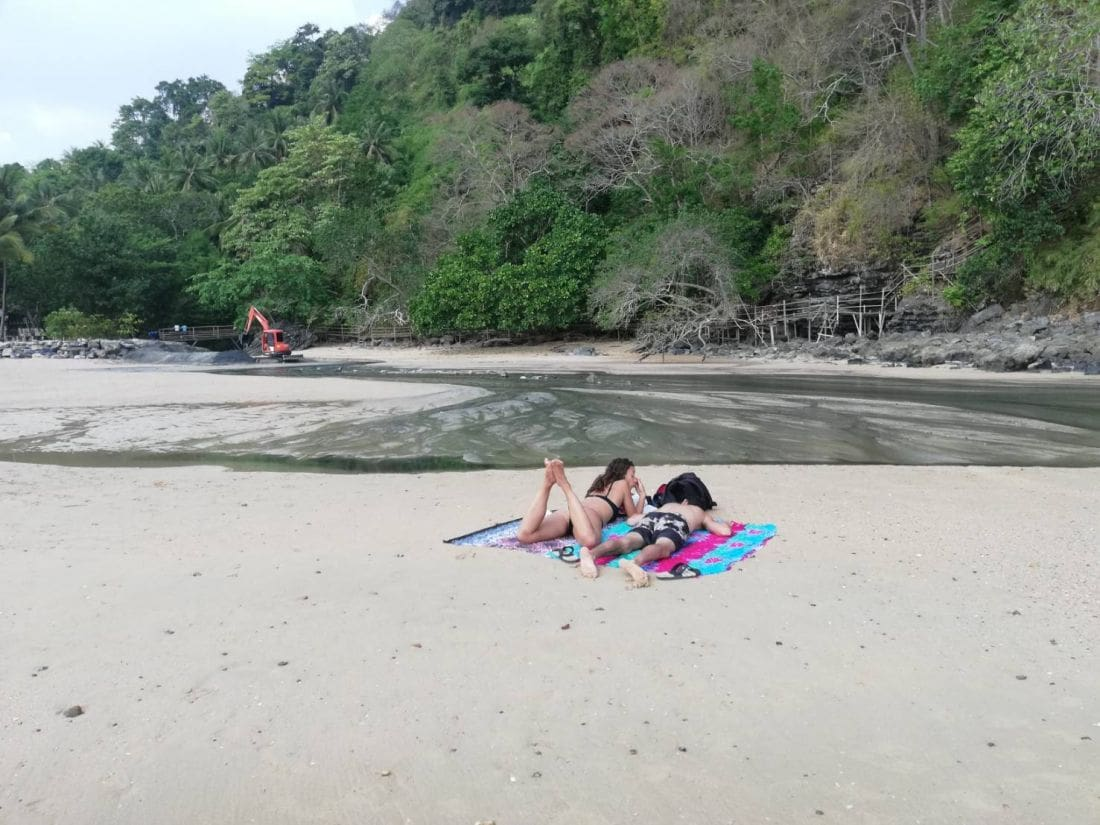 Wastewater runs freely into sea in Krabi | The Thaiger