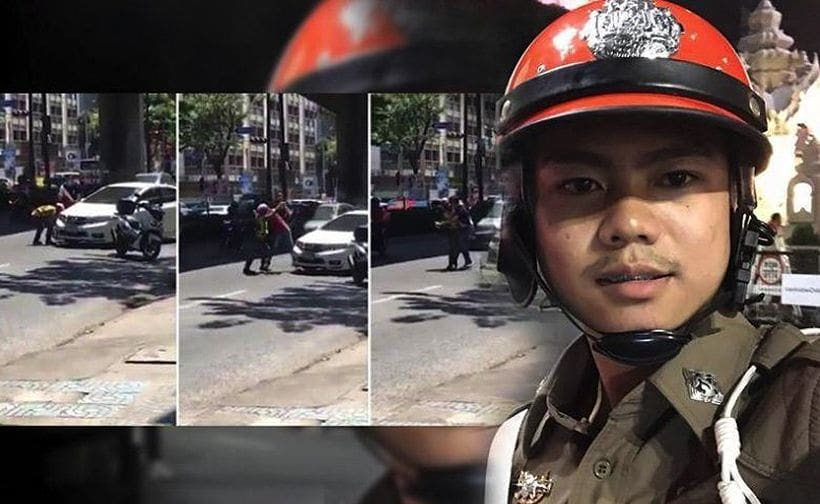 Police wrestler avoids jail but gets a hefty fine | The Thaiger