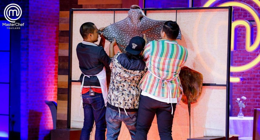 Is cooking endangered rays on 'MasterChef Thailand' OK?   The Thaiger
