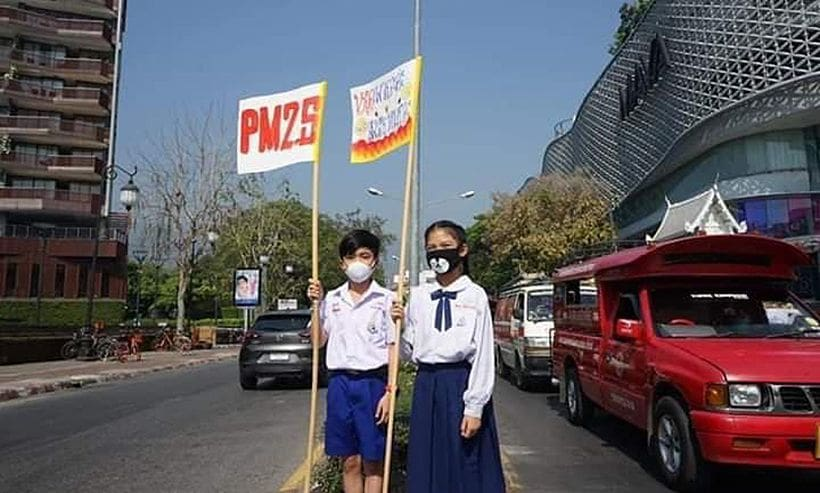 Chiang Mai kids are demanding action on air pollution | The Thaiger