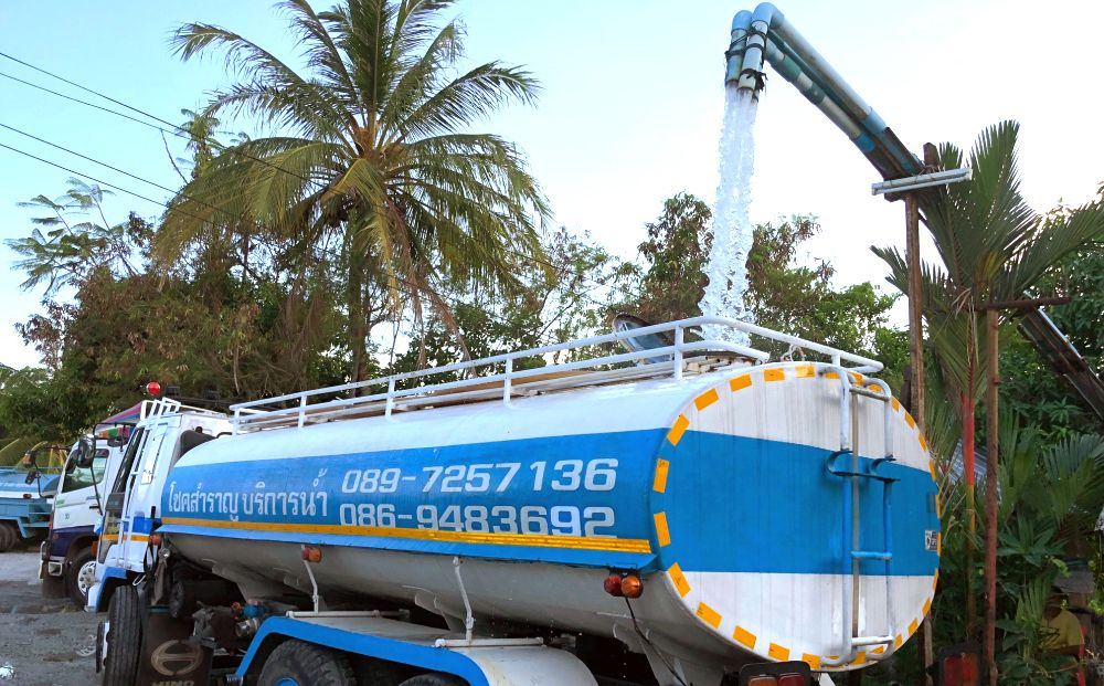 Roll out the water trucks – Phuket's water runs low   The Thaiger