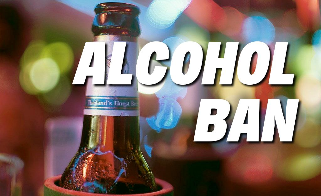 24 hour alcohol ban starts tonight, another one next week – Election   The Thaiger