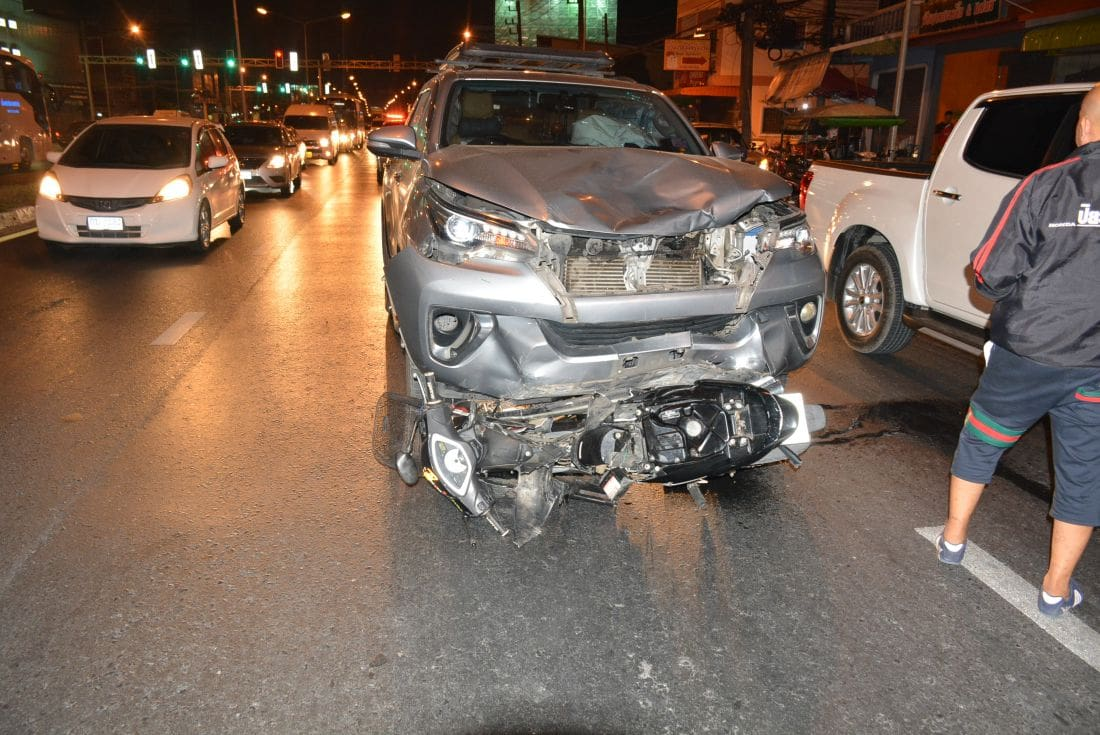 Motorbike driver killed after SUV runs red light in Koh Kaew, Phuket | The Thaiger