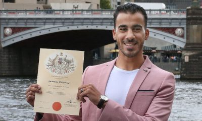 He's an Aussie now. Hakeem al-Araibi becomes Australian citizen. | The Thaiger