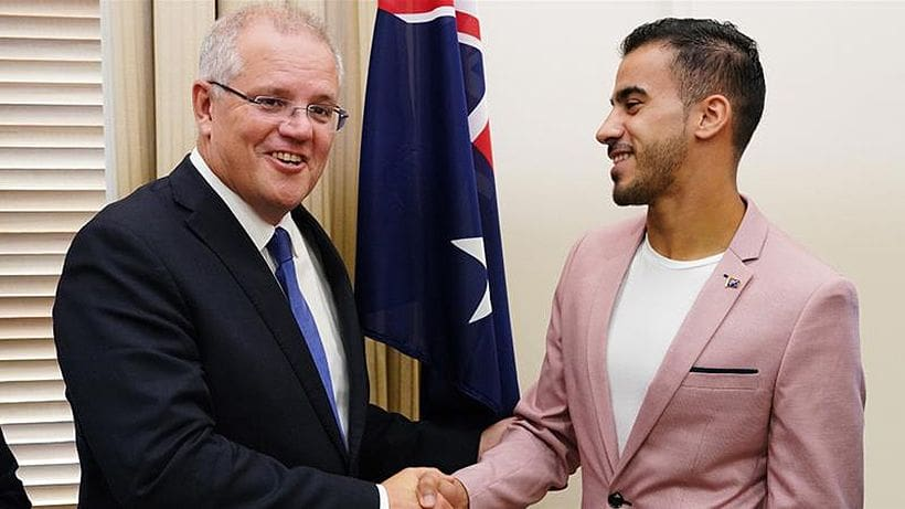 He's an Aussie now. Hakeem al-Araibi becomes Australian citizen. | News by Thaiger
