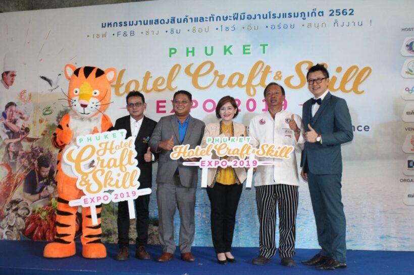 ยิ่งใหญ่ Phuket Hotel Craft & Skill Expo 2019 มหกรรมงานแสดงสินค้าและทักษะฝีมืองานโรงแรมที่ภูเก็ต | The Thaiger