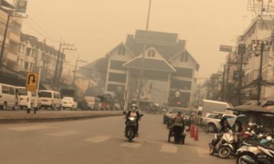เชียงรายวิกฤตหนัก หมอกควันหม่นทึบทั้งเมือง สังเวยชีวิตแล้ว 1 ศพ | The Thaiger