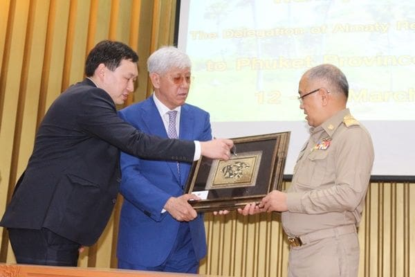 Almaty Governor from Kazakhstan visits Phuket   News by Thaiger