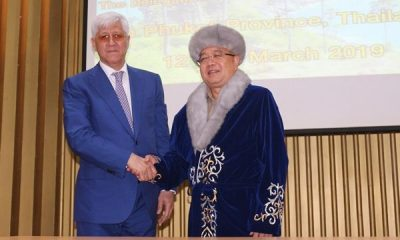 Almaty Governor fromKazakhstan visits Phuket | The Thaiger