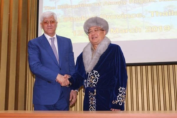 Almaty Governor fromKazakhstan visits Phuket   The Thaiger