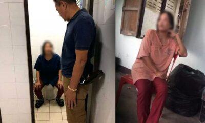 หมอนวดผัวป่วยอัมพฤกษ์ คลอดลูกซึ่งเกิดกับสามีคนอื่น! ทิ้งห้องน้ำโรงพัก | The Thaiger