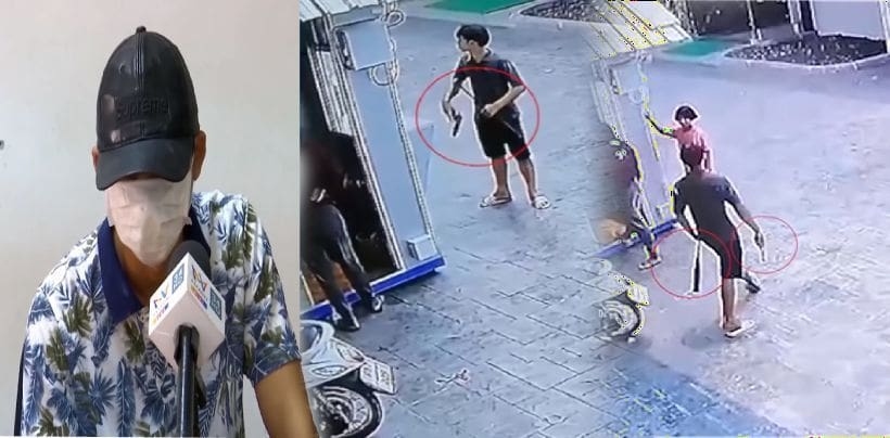 จับแล้ว หนุ่มทะเลาะเมีย ชักปืนขู่ ใช้ไม้เบสบอลฟาดหัวเด็ก 16 สมองบวม | The Thaiger