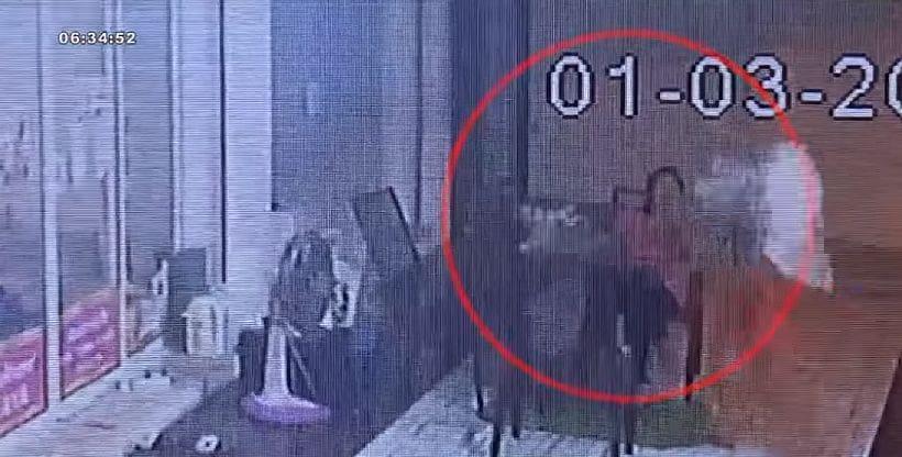 เปิดคลิปมาเฟียรัสเซียพังร้านนวดแผนโบราณ โมโหถูกปฏิเสธมีเพศสัมพันธ์ | The Thaiger