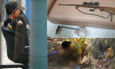 มือปืนยิงนักมวยเด็กวัย 9 ขวบ ฆ่าฝังดิน มอบตัวแล้ว อ้างคิดว่าเป็นสัตว์ | The Thaiger