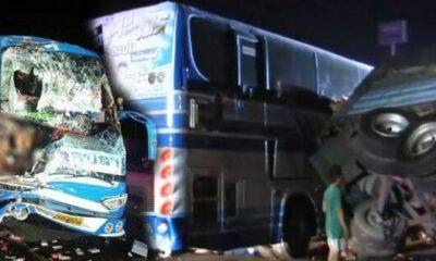 สยองสระบุรี รถทัวร์อุบลชนท้าย10ล้อ คนขับร่างเละ-หัวขาด ผู้โดยสารเจ็บระนาว 34 ราย [คลิป] | The Thaiger
